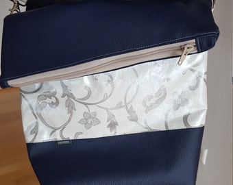 Shoulder bag - PANYMOON - white-silver - lined