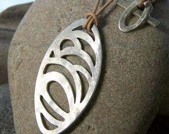 mini seascape pendant (3) silver
