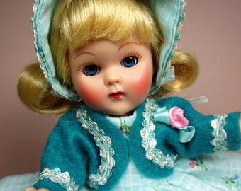 Handsewn dress ensemble for your Reproduction Ginny doll!