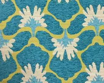 Upholstery Fabric - Chelsea - Laguna - Heavy Chenille Home Decor Upholstery & Throw Pillow Fabric by the Yard-Available in 8 Colors