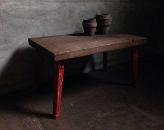Folding Table -red bri-