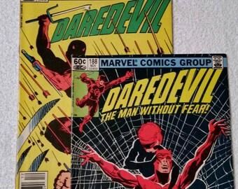Daredevil #188 and #189