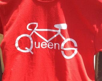 Queens Bike T-shirt