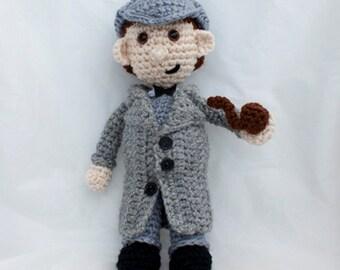 Amigurumi Sherlock Holmes