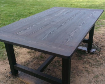 Douglas Fir Handmade Table