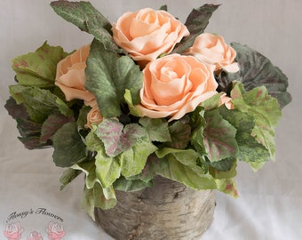 Country Rose Centrepiece