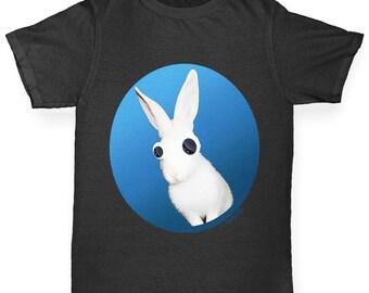 Boy's Googly Eyes Rabbit T-Shirt
