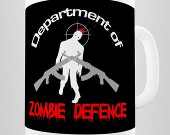 Zombie Defence Ceramic Mug