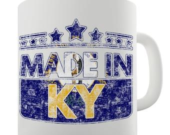 Made In KY Kentucky Ceramic Mug