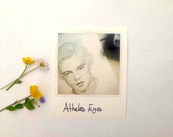 Leonardo Dicaprio Polaroid print (Athelas Eyes)