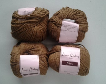 "Louisa Harding ""Albero"" cotton blend fashion yarn, Cafe au lait color"