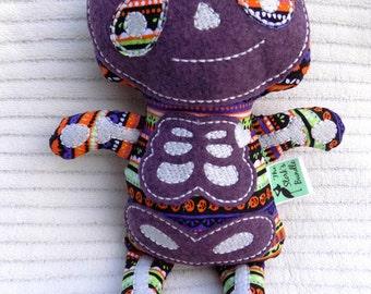Stuffed Skeleton, Skeleton Stuffed Animal, Halloween Themed Stuffie, Skeleton Stuffie, Stuffed Animals, Skeleton Plushie, Skeleton Toy