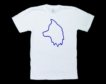 Wolf Head Outline Tee
