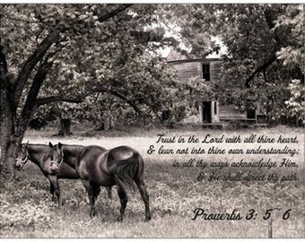 Old homeplace scripture magnet