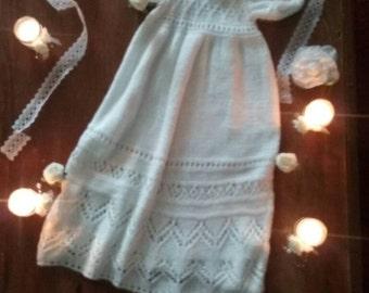 handmade christening gown