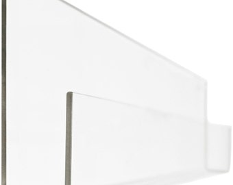 PEEKABOO SHELF - Clear Acrylic Bookshelf (set of 2)