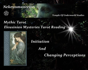 Mythic Tarot Reading:  Eleusinian Mystery Tarot Reading