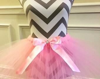 Baby pink tutu sparkle tutu birthday tutu newborn tutu