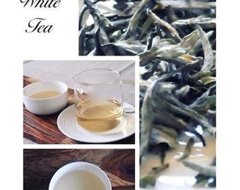 Serenetea Natural Premium White tea loose leaves 50g in Bag