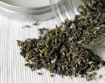 Jasmine Green Tea (with a glass jar)