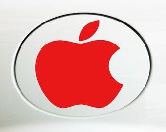 Apple Vinyl Decal