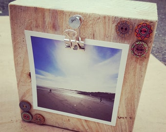 Wooden Photo Block
