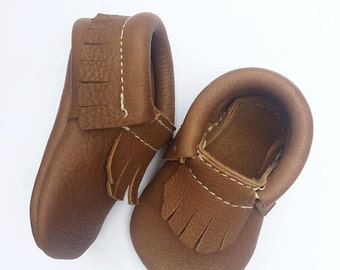 Leather Baby Moccasin