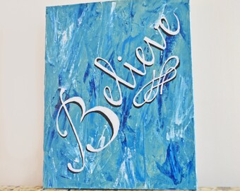 Items Similar To Dance In The Rain Word Art Print In Turquoise On Etsy