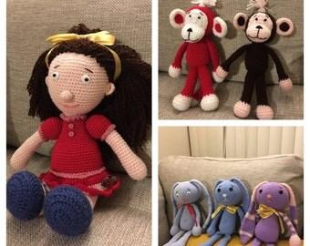 Handmade Amigurumi Toys