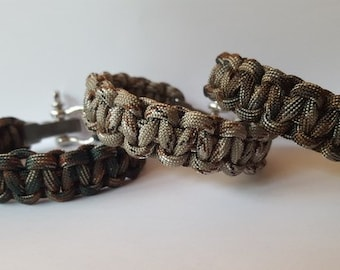 ByQuinty paracord bracelets men's collection