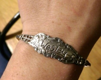 Custom sterling Silver bracelet