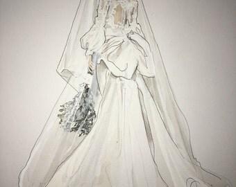 Bridal illustration