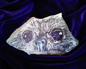 Galaxy Eyed Owl Rock