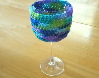 Multicolor wineglass sweater