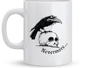 11 oz 'Nevermore' Ceramic Mug
