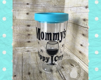 RTS Mommy's Sippy Cup Wine Tumbler