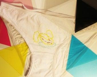 Embroidered panties Banana