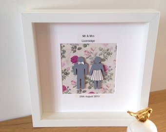 Personalized Wedding Gifts For Couple Uk : Unique wedding gift for couple Etsy UK
