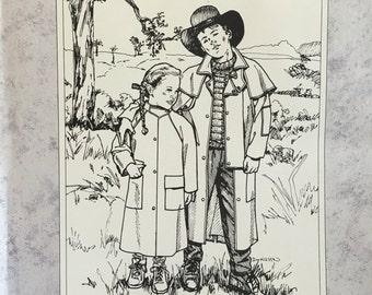 Folkwear Child's Australian Drover Coat
