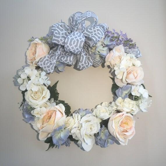 Pastel Garden Wreath