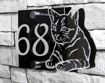 Cat House Sign | The Perfect Gift For Cat Lovers