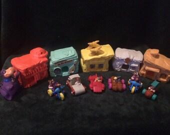 Full set of figurines Flintstones