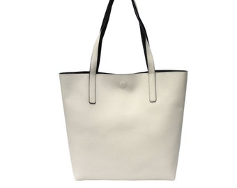 Personalized reversible tote purse