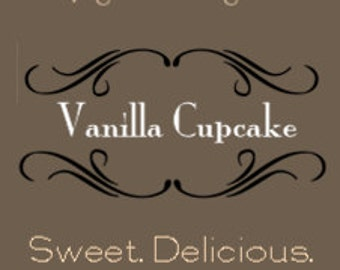 Vanilla Cupcake Soy Candle
