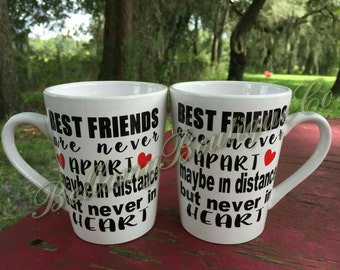 BEST FRIEND coffee mugs/coffee mugs/best friend mugs/friends/coffee/best friends
