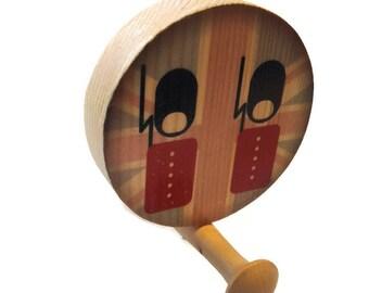 Queens Guard / Kids room / CIrcular Wall Hook / Modern Wall Hook / Wooden Wall Hook / Wooden hall knob / Wooden coat hook / Beefeater