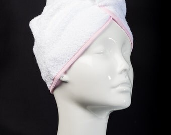Pink Classic Collection - The Ultimate Hair Towel by Itza Products : Superior Quality Terry cloth