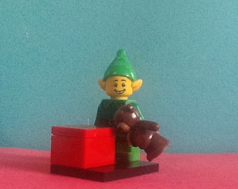 LEGO minifigure Christmas elf