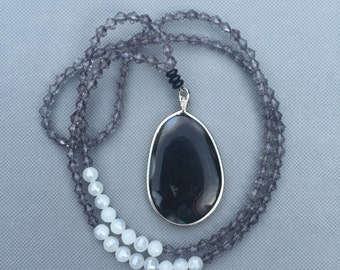 Dark Skies Necklace