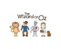 The Wizard of Oz - Machine Embroidery Design